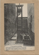 75   PARIS   PRISON  LA  GUILLOTINE  FRANCAISE       JUSTICE  PRISONNIERS     ( EXPLICATIONS  ) - Prison