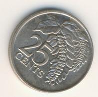 TRINIDAD & TOBAGO 1976: 25 Cents, KM 32 - Trinidad & Tobago