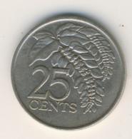 TRINIDAD & TOBAGO 1975: 25 Cents, KM 32 - Trinidad & Tobago