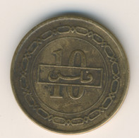BAHRAIN 2002: 10 Fils, KM 28.1 - Bahrain