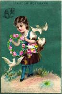 1   Calendrier 1884  Amidon Hoffmann Rue Vivienne PParis - Formato Piccolo : ...-1900