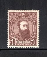 BEL. CONGO 9 MNH 1887 - Leopold II Drie Kwart Naar Rechts - 1884-1894 Precursors & Leopold II