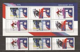 Grenada - Limited Edition Set 17 MNH - WINTER OLYMPICS VANCOUVER 2010 - Winter 2010: Vancouver