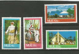 Niue - 1974  Self Government MNH **     SG 186-9   Sc 167-70 - Niue