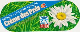 ETIQUETTE DE FROMAGE CREME DES PRES - Cheese