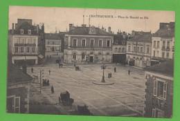 36 - Chateauroux - Place Du Marché Au Blé - Chateauroux