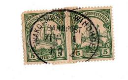 DEUTSCH-SUDWESTAFRIKA 5 Pfennig - Colonie: Afrique Sud-Occidentale
