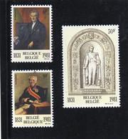 1981 Belgio - 150° Ann. Della Dinastia E Del Parlamento - Ongebruikt