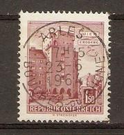 Autriche 1964 - Cachet Français Arles - Affrancature Meccaniche Rosse (EMA)