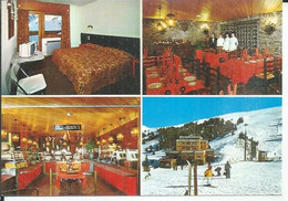 HOTEL REFUGI - GRAU ROIG - ESTACIO D'ESQUI  ( Animées 4 VUES ) ANDORRA / ANDORRE - Andorra