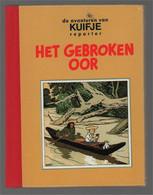 Lekturama Kuifje Reporter 6 Het Gebroken Oor (Hergé) 1991 - Kuifje