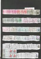 VRAC FRANCE FIN DE STOCK TAXE OBLITERES DEPUIS 1960 POUR ETUDE + 500 TBRES A MOINS DE 0.01€ LE TIMBRE  A SAISIR - Kilowaar (max. 999 Zegels)
