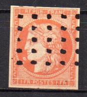Col18  France Cérès  1849   N° 7 Faux  Oblitéré Cote 21000,00€ - 1849-1850 Ceres