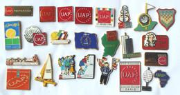 Superbe Lot De 25 Pin's ASSURANCE UAP - Tous Différents Dont 5 DECAT Et 2 WINNER - K097 - Lots