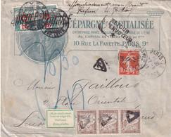 TAXE MIXTE FRANCE-SUISSE Sur Lettre Affranchie N°138 - Cartas Con Impuestos