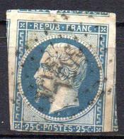 Col18  France Louis Napoléon 1852   N° 10 Oblitéré PC Cote 45,00€ - 1852 Luis-Napoléon