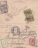 TAXE MIXTE FRANCE-SUISSE Sur Jolie Petite Lettre - 1903 - Portomarken