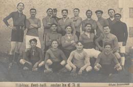 Belle Carte Photo Ribérac Football : équipe Du C.A.R. (Club Athlétique Ribéracois) - Début XXéme - Riberac