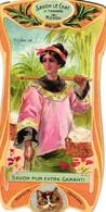 1 Calendrier 1906 Savon Le Chat  Travers Le Monde   Tonkin Lith. Goossens - Small : 1901-20