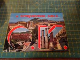 61200/18  Cartolina Di Campobasso  Usata Per Concorso - Campobasso