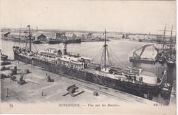 84  DUNKERQUE  D59  NORD  VUE SUR LES BASSINS - Dunkerque