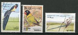 (CL 14 - P.54. Lot 6) Afghanistan Ob - Oiseaux - - Zonder Classificatie