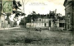 MERVILLE=   La Rue Principale La Mairie    2325 - Andere Gemeenten