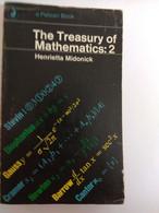 MATHEMATICS THE TREASURY OF MATHEMATICS VOL.1+2 PENGUIN HENRIETTA MIDONICK - Other