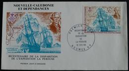 Premier Jour 10 Févr 1988.BICENTENAIRE DE LA DISPARITION DE LA PEROUSE. - Briefe U. Dokumente