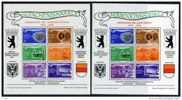 NEDERLAND 1972 MNH** Herdenkingszegels Groningen 300 Jaar Ontzet (NL En D Tekst) - Otros