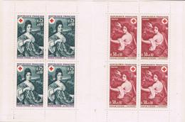 FRANCE : N° 1580 Et 1581 X 4 En Carnet N° 2017 (Croix-Rouge) - PRIX FIXE - - Cruz Roja