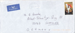 Bahrain Air Mail Cover Sent To Germany 3-1-2000 - Bahrain (1965-...)
