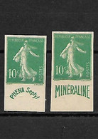 1235 REPRODUCTION  Vignette Phena Et Mineraline - Ohne Zuordnung