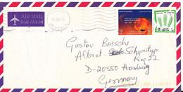 Bahrain Air Mail Cover Sent To Germany 30-8-2000 - Bahrain (1965-...)
