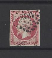 FRANCE.  YT   N° 17B  Obl  1859 - 1853-1860 Napoleon III