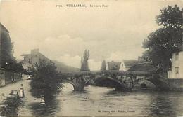 -d.div.-ref-AV999- Doubs - Vuillafans - Le Vieux Pont - Femme Du Pays - - Autres Communes