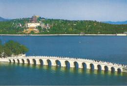 (CHINA) THE SEVENTEEN-ARCH BRIDGE - New Postcard - China