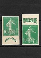 1508 REPRODUCTION  Vignette Phena Et Mineraline - Ohne Zuordnung