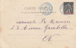 CPA De DIEGO-SUAREZ - Ankorika - Camp Des Tirailleurssénégalais. (Verso : T. à D. Bleu / 28) TTB. - Covers & Documents