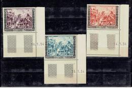 TP ASIE - LAOS - N° 28 ET 29** - PA N° 13** COINS DATES - MNH - DE 1954 - Laos