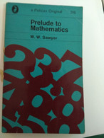 MATHEMATICS PRELUDE TO MATHEMATICS W.W.SAWYER PELICAN EDITION - Other