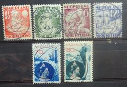NEDERLAND  1930     Nr. 232 - 235 / 236 - 237       Gestempeld    CW  20,00 - Gebruikt