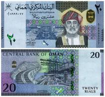 OMAN 20 RIAL 2020 (2021) P NEW - UNC - Oman