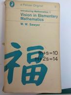 MATHEMATICS VISION IN ELEMENTARY MATHEMATICS W.W. SAWYER PELICAN ORIGINAL - Other