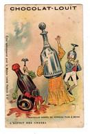 Chromo Imp. Baster & Vieillemard, L'ésprit Des Choses, Bouteille Cassée.... - Louit