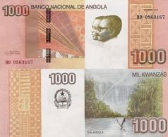 ANGOLA   1000 Kwanzas 2012 P 156 A UNC - Angola