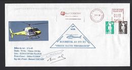 FRANCE HÉLICOPTÈRE EUROCOPTER  MARIGNANE PREMIER VOL ECUREUIL SIGNATURE PILOTE - Helicopters