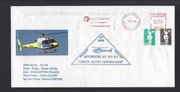 FRANCE HÉLICOPTÈRE EUROCOPTER  MARIGNANE PREMIER VOL ECUREUIL - Hélicoptères