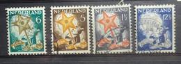 NEDERLAND  1933     Nr. 261 - 264     Gestempeld    CW  27,00 - Oblitérés