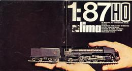 Catalogue LIMA 1971/72 HO 1/87 + Preisliste SEK - En Italien, Français, Anglais, Allemand Et Néerlandais - Frans